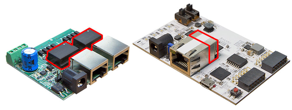 Ethernet transformers