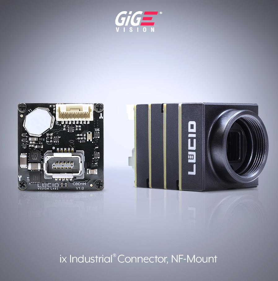 带ix工业连接器的凤凰NF安装镜头