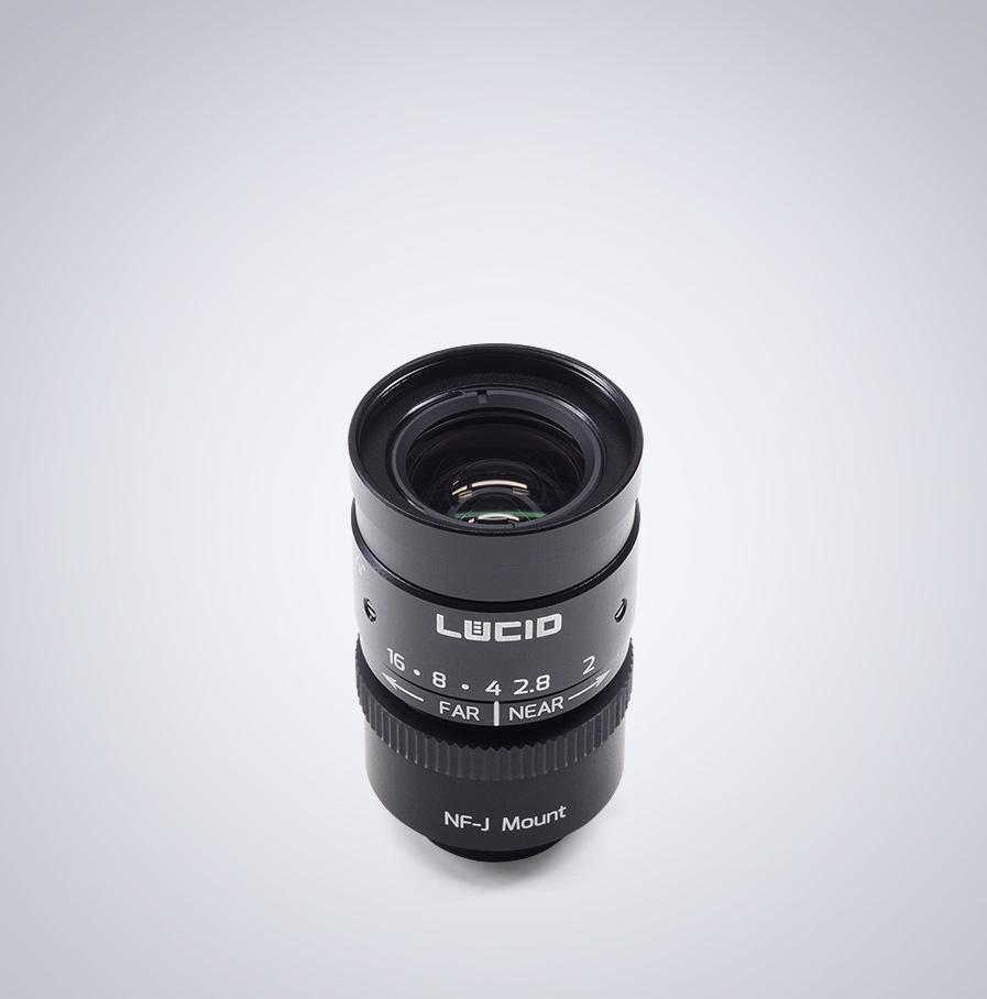 Lucid NF120-5M angled lens
