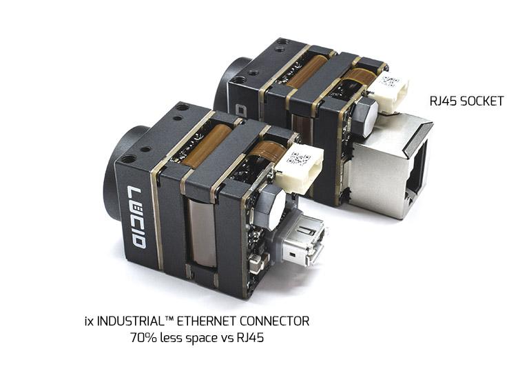 ix industrial connector on Phoenix camera