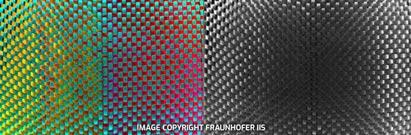 使用极化摄像头进行碳纤维检测