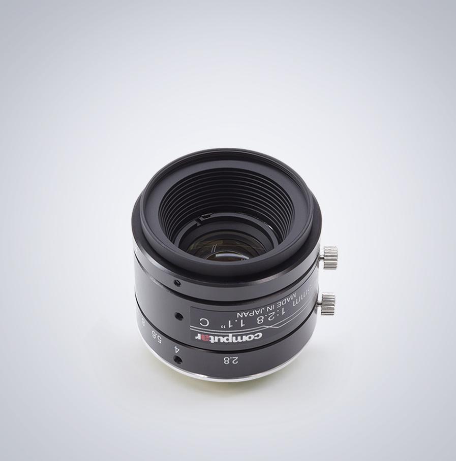 Computar-V2528-MPY-25mm-angled 相机镜头
