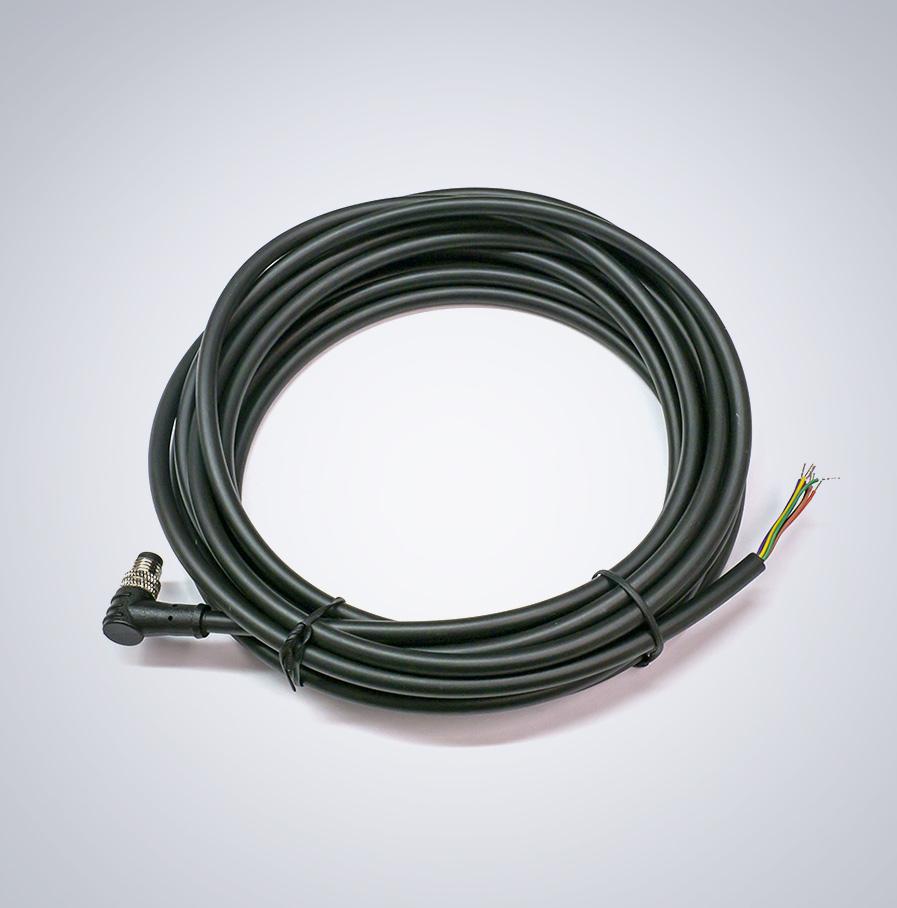 M8 GPIO 8-pin Cable [Right Angle, Down] - 5.0m