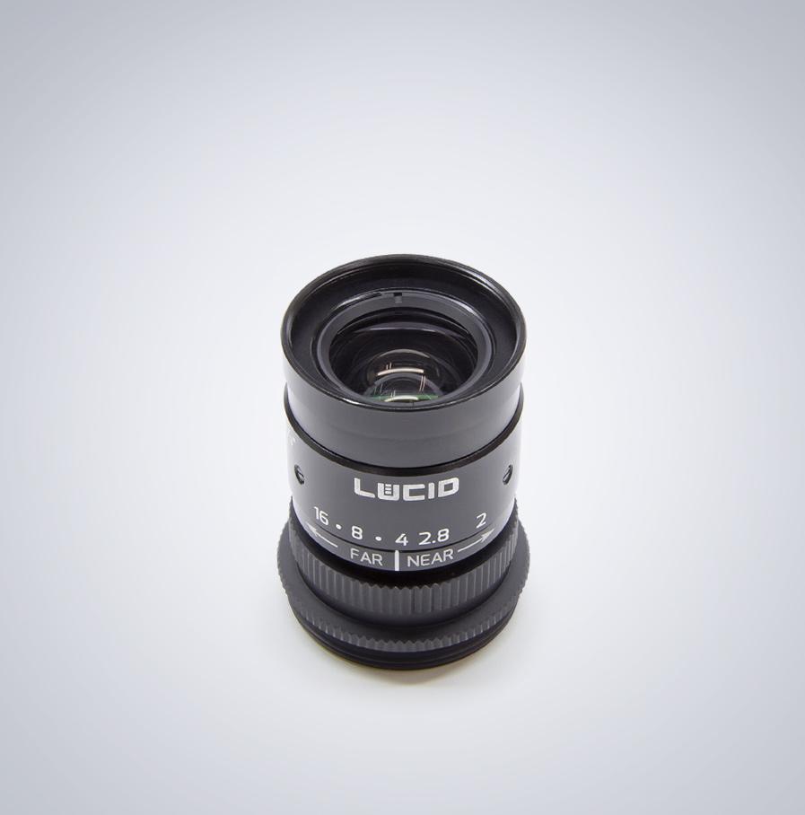 lucid c-mount 12mm 镜头