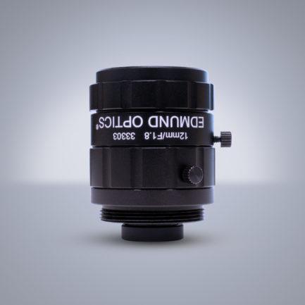 Edmund Optics C-Mount 1/1.8″ 12mm f/1.8 (UC Series) 镜头