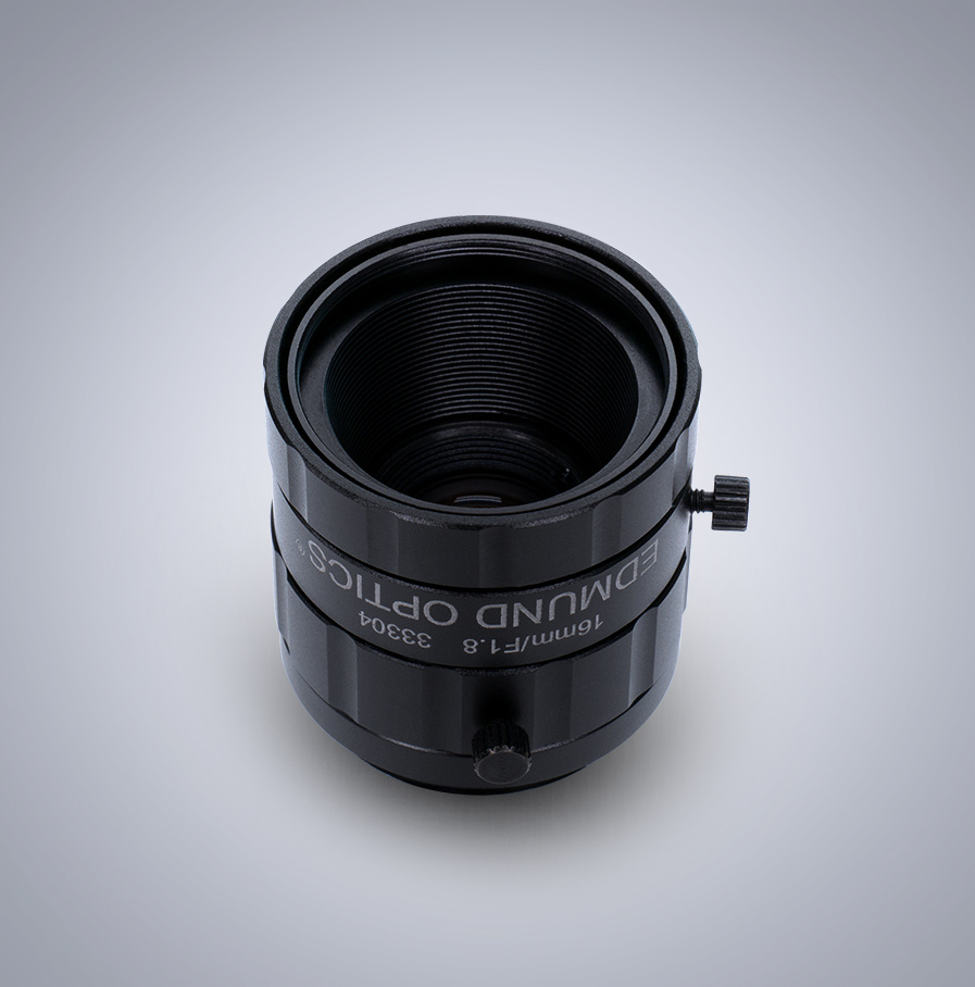 Edmund Optics C-Mount 1/1.8″ 16mm f/1.8 (UC Series) 镜头