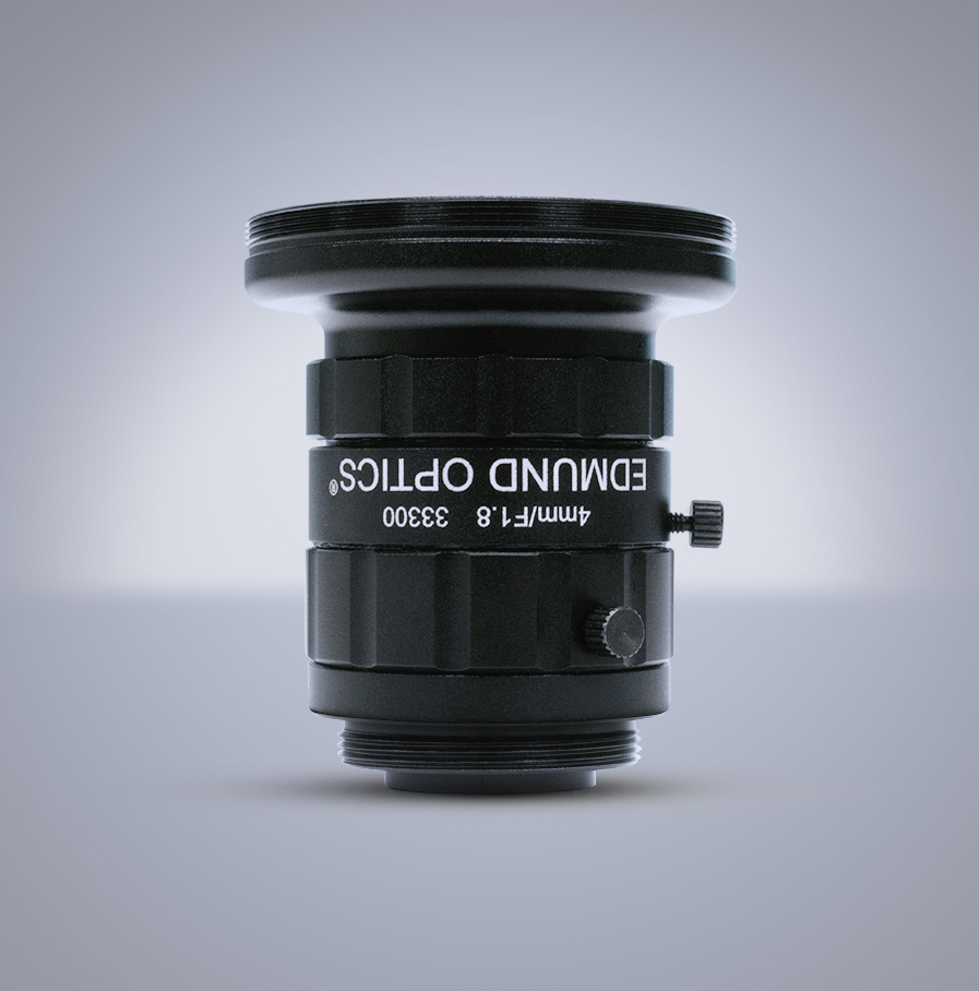 Edmund Optics C-Mount 1/2″ 4mm f/1.8 (UC Series) 镜头