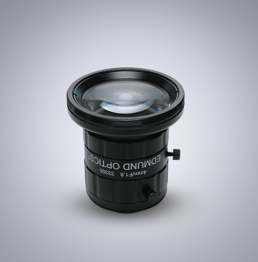 Edmund Optics C-Mount 1/2″ 4mm f/1.8 (UC Series) 镜头