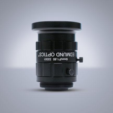 Edmund Optics C-Mount 1/2″ 6mm f/1.85 (UC Series) 镜头