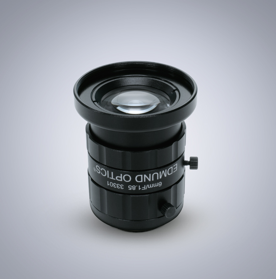 Edmund Optics C-Mount 1/2″ 6mm f/1.85 (UC Series) 镜头