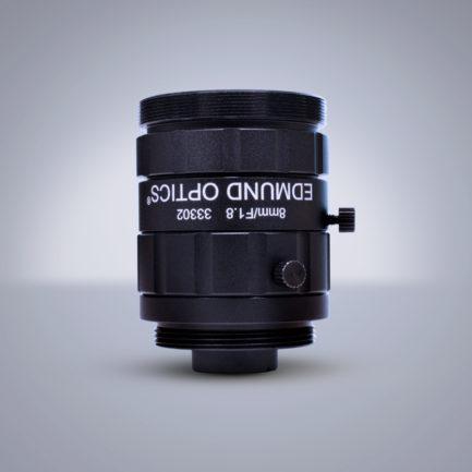 Edmund Optics C-Mount 1/2″ 8mm f/1.8 (UC Series 镜头)