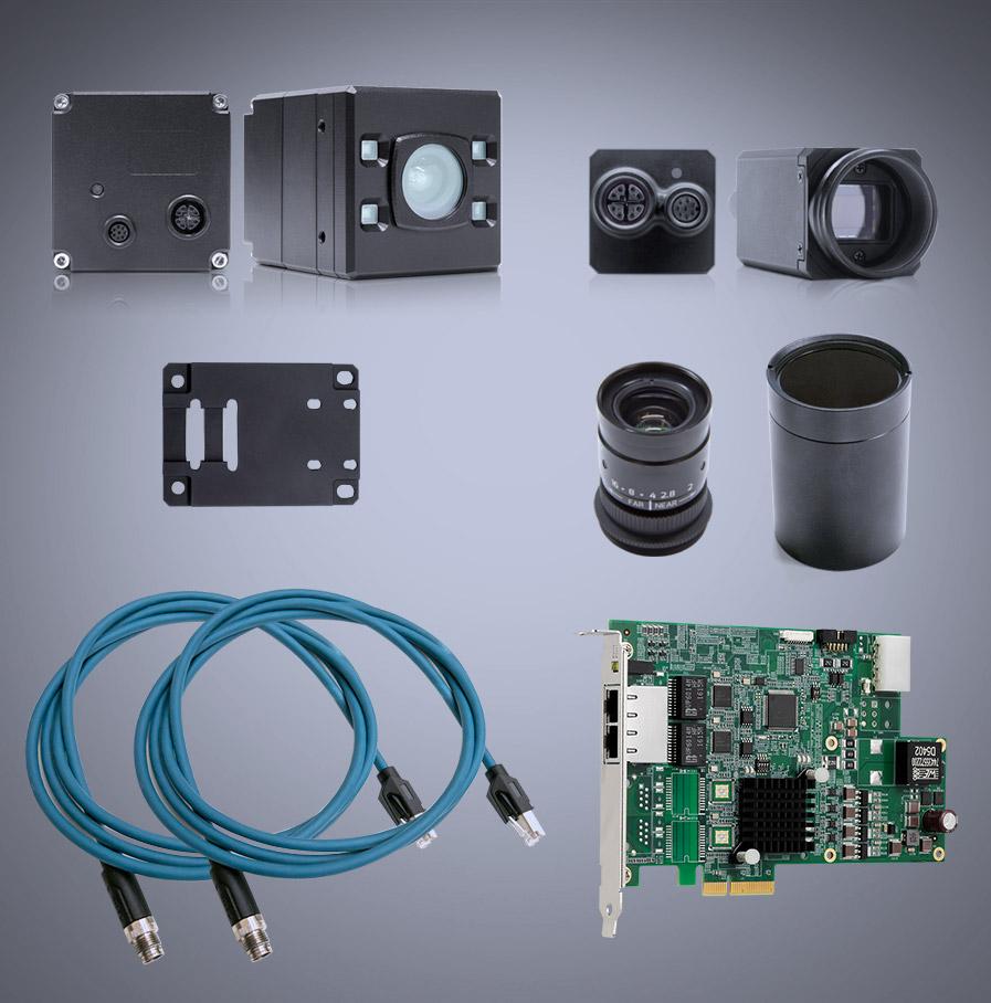 Helios2和Triton 相机套件 (RGB+3D)