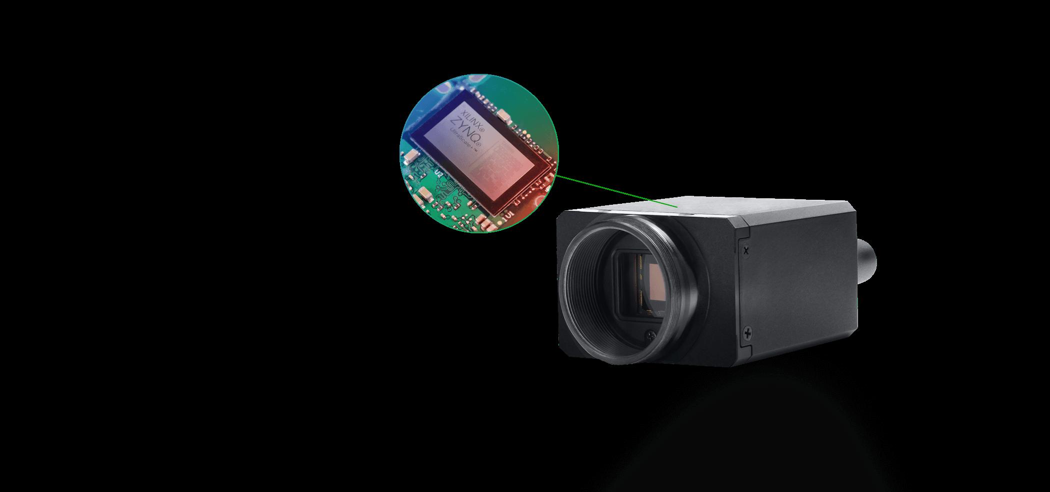 采用赛灵思Ultrascale+ ZU3的Triton边缘相机